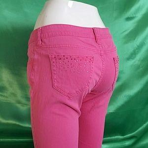 City Streets. Pink pants size 5. Skinny